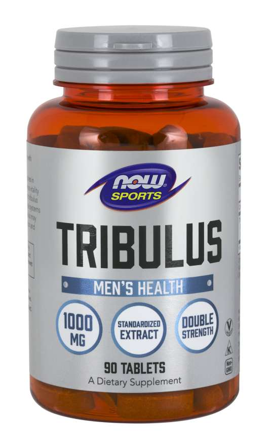 Tribulus Terrestris 1000mg 90 Tabletes - Now Sports