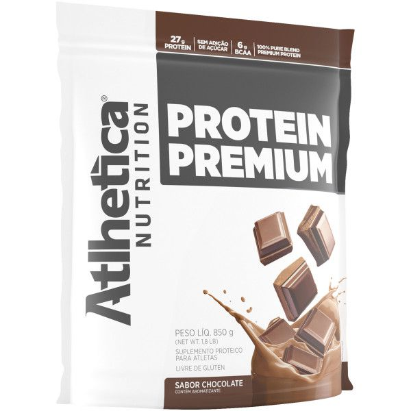 faf98c6e1 Whey Blend Protein Premium - Atlhetica - BRASFORTE SUPLEMENTOS ...