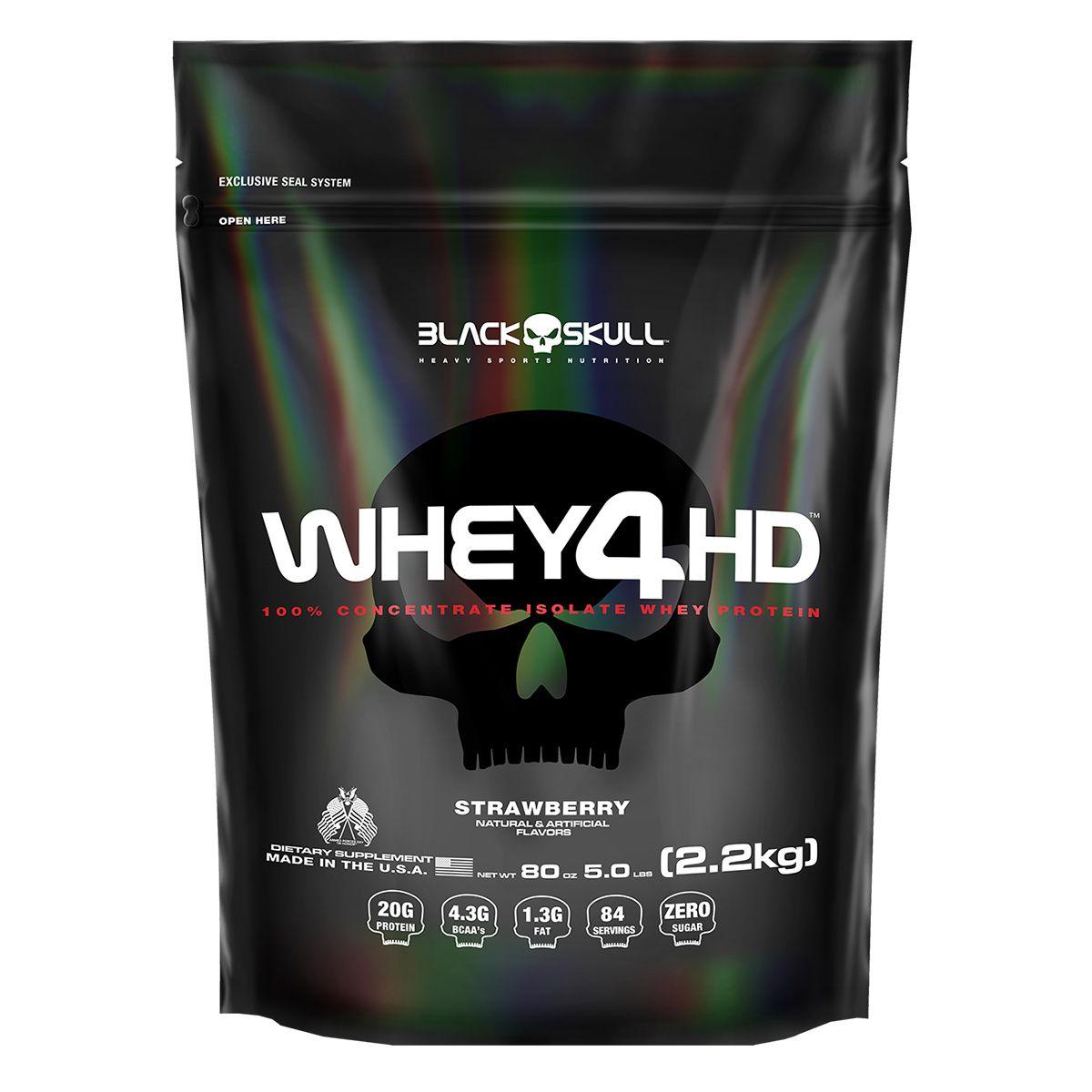 Whey Protein Refil 4 HD - 2.2 Kg