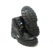 Bota Segurança Couro Preto Marluvas 70B29 CPAP Bico Composite palmilha antiperfurante CA 34550