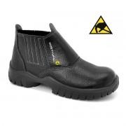 Calçado Segurança Couro Preto Estival Antiestático WO10011S1A CA 40960