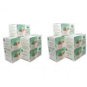 KIT 10 Caixas Mascara Tripla Descartável Proteção Bacteriana Protdesc