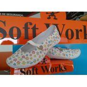 Sapatilha Segurança Eva Antiderrapante Soft Works BB56 Estampa 05 CA 34061
