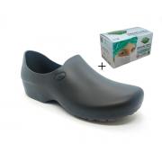 Sapato Antiderrapante Sticky Shoes + Caixa Mascara Protdesc