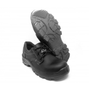 Sapato de Segurança Eletricista Com Cadarço em MIcrofibra Bidensidade 4087HSSM1600EL Fujiwara Bico Composite CA 38927