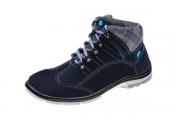Sapato Segurança Feminino Nobuck Azul Marluvas 50F62 CNA CA 32816