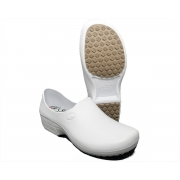 Sapato Segurança Antiderrapante Sticky Shoe WOMAN Branco CA 39848
