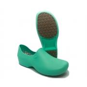 Sapato Segurança Antiderrapante Sticky Shoe WOMAN  Verde Claro CA 39848