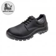 Sapato Segurança Couro Preto Marluvas 70S29-CPAP-PAD Palmilha Anti Perfuração Bico Composite CA 34551