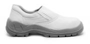 Sapato Segurança Microfibra Branca Bracol 4010BSEM4600LL Bidensidade Bico PVC CA 29951