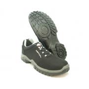 Sapato Segurança Microfibra Preto/Cinza Estival EN10023S2L Bico Composite Palmilha Anti Perfuro CA 40516