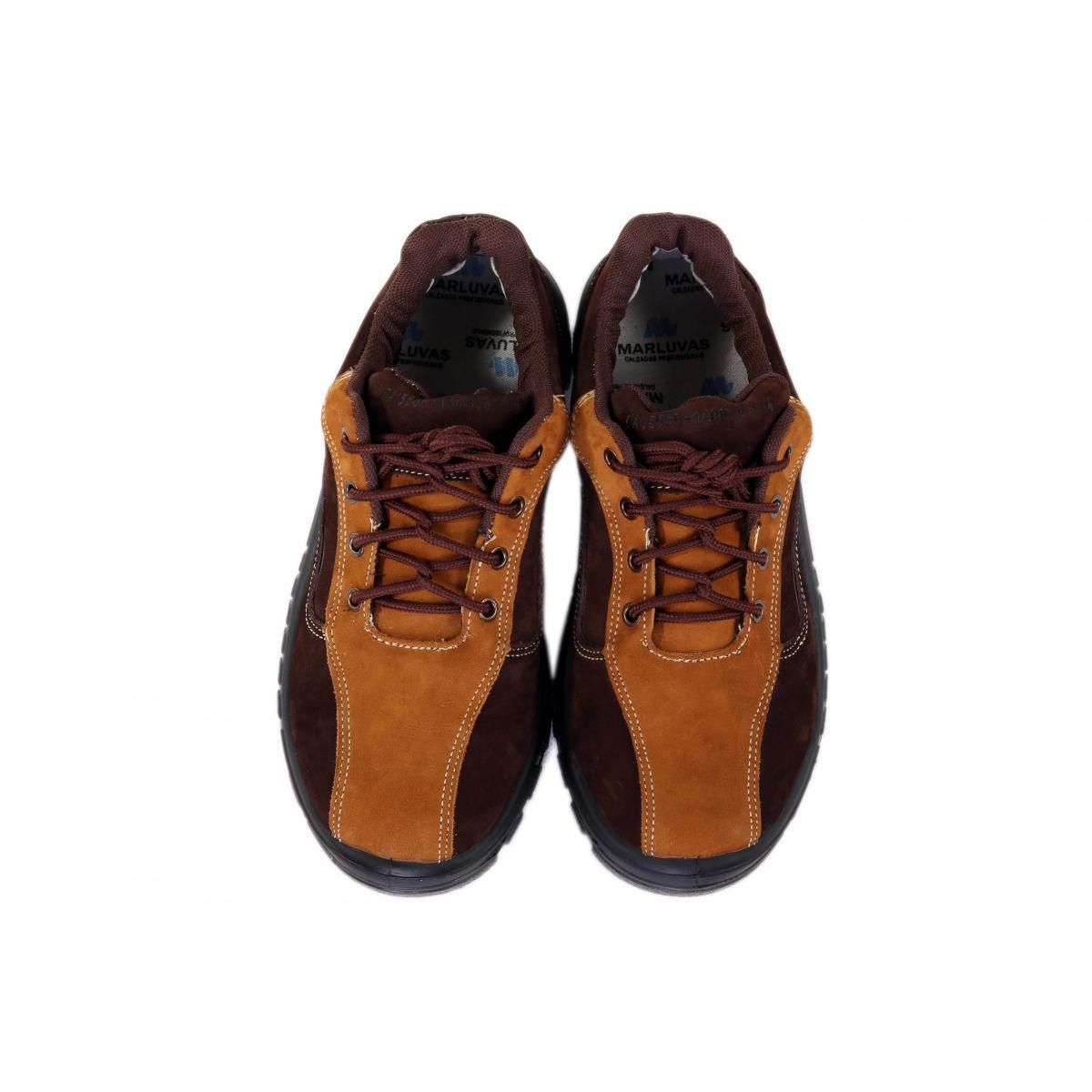 Sapato Nobuck Marrom Marluvas 50T18-VA-BP-CX
