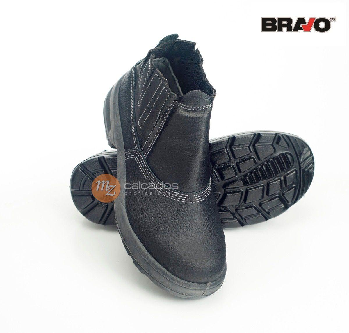 Bota De Seguranca Bravo Bracol Bico Aco 4095uses2400lb Ca 39510