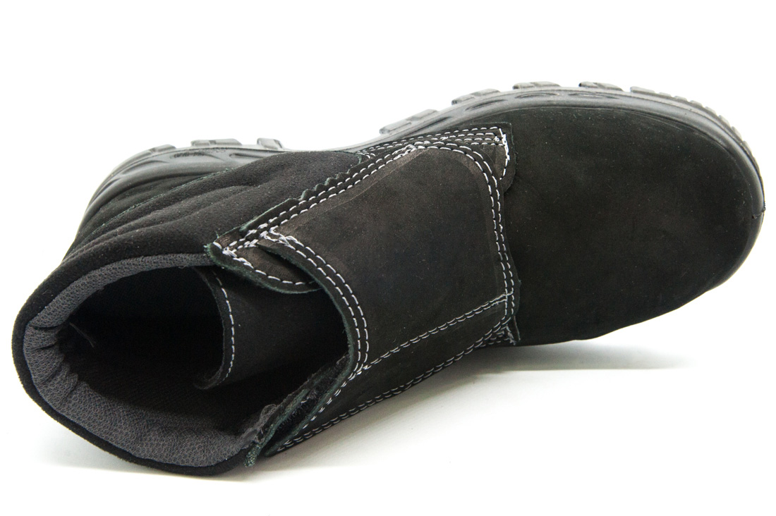 Bota de Segurança Nobuck com Velcro Bracol 4018BVLN4600LL Bico PVC CA 25684