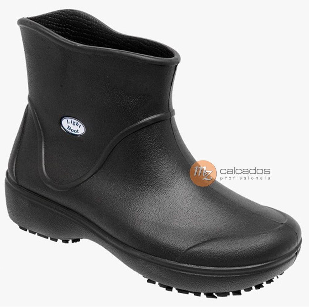 Bota Segurança Antiderrapante Eva Preto Soft Works BB85 Light Boot CA 37390