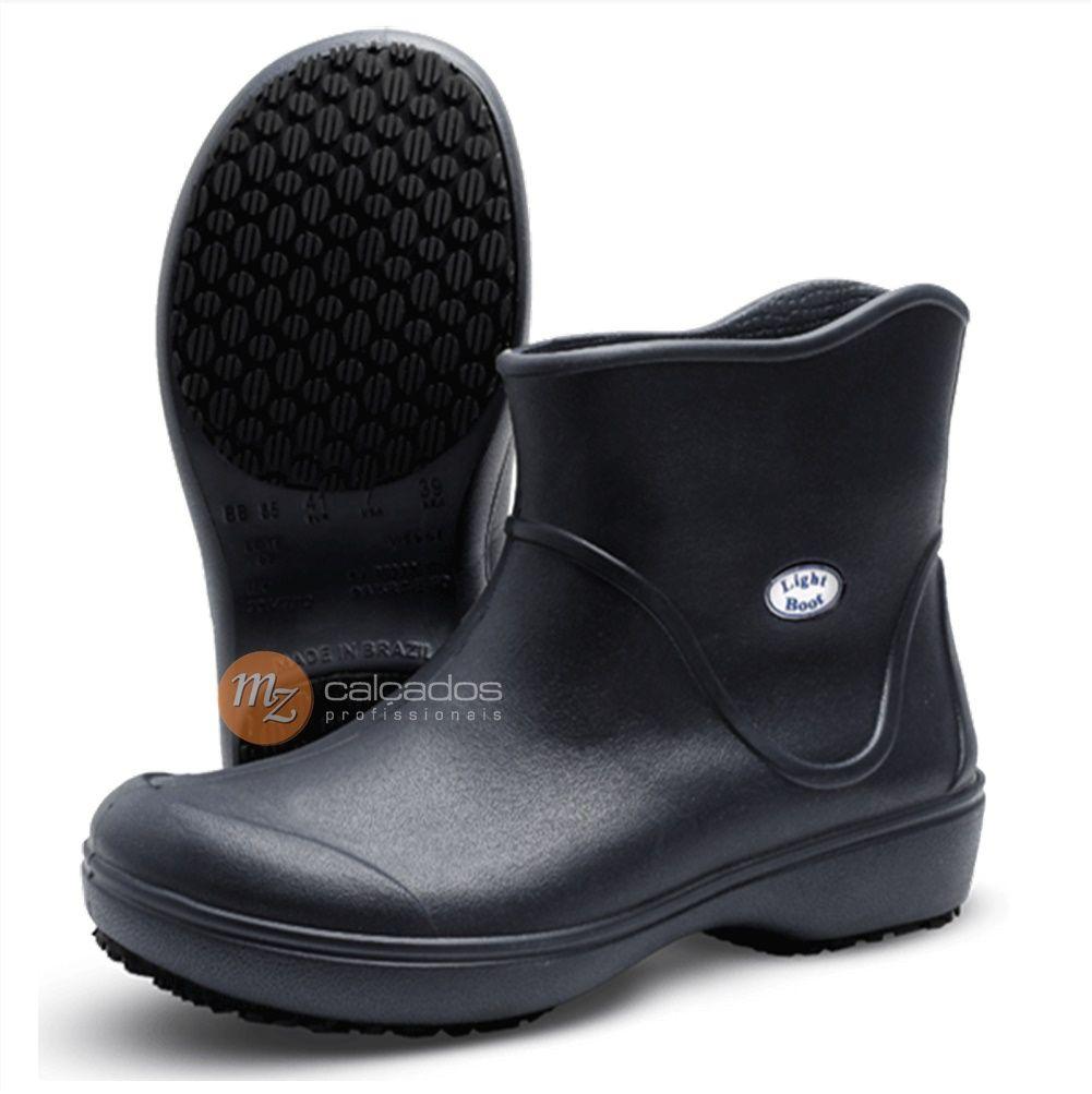 Bota Segurança Antiderrapante Eva Preto Soft Works BB85 Light Boot CA 37390