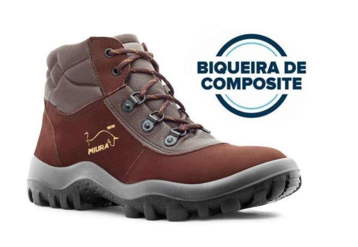 Botina Segurança Safetline 4857 Miura CA 38791 Bico Composite