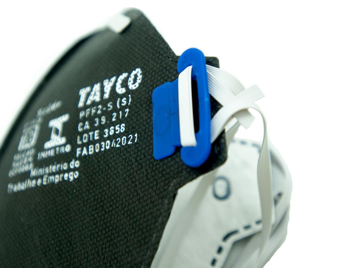 KIT 100 Respirador PFF2 T-950 Sem Valvula Tayco CA 39217