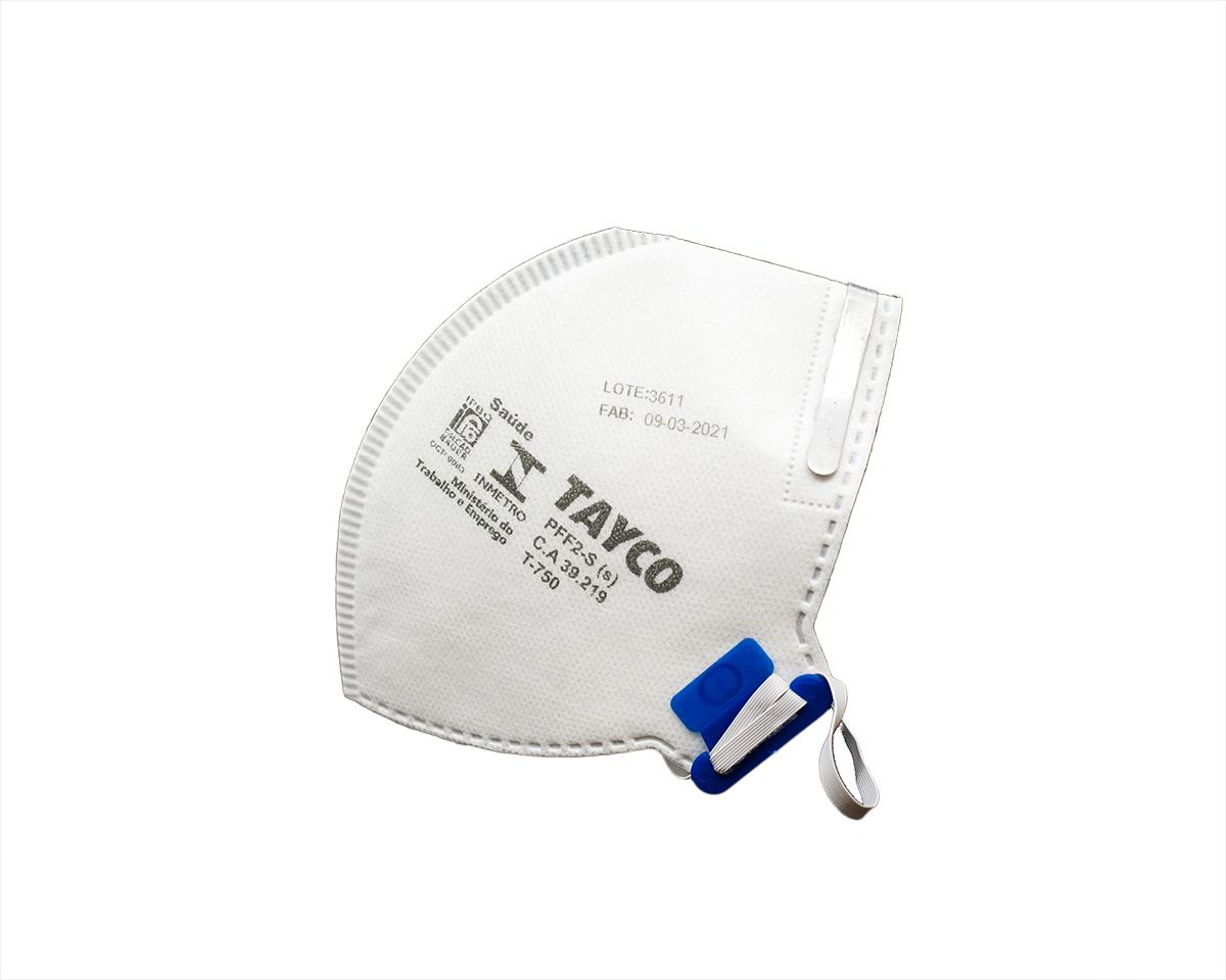 KIT 10 Mascaras  Respiratória PFF2-S  T-750 Tayco CA 39219