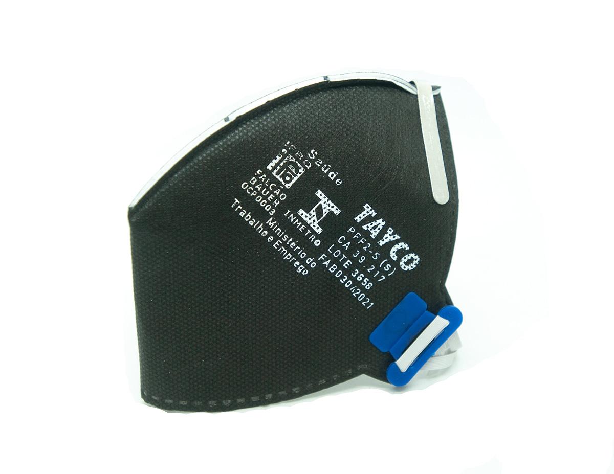 KIT 10 Respirador PFF2 T-950 Sem Valvula Tayco CA 39217