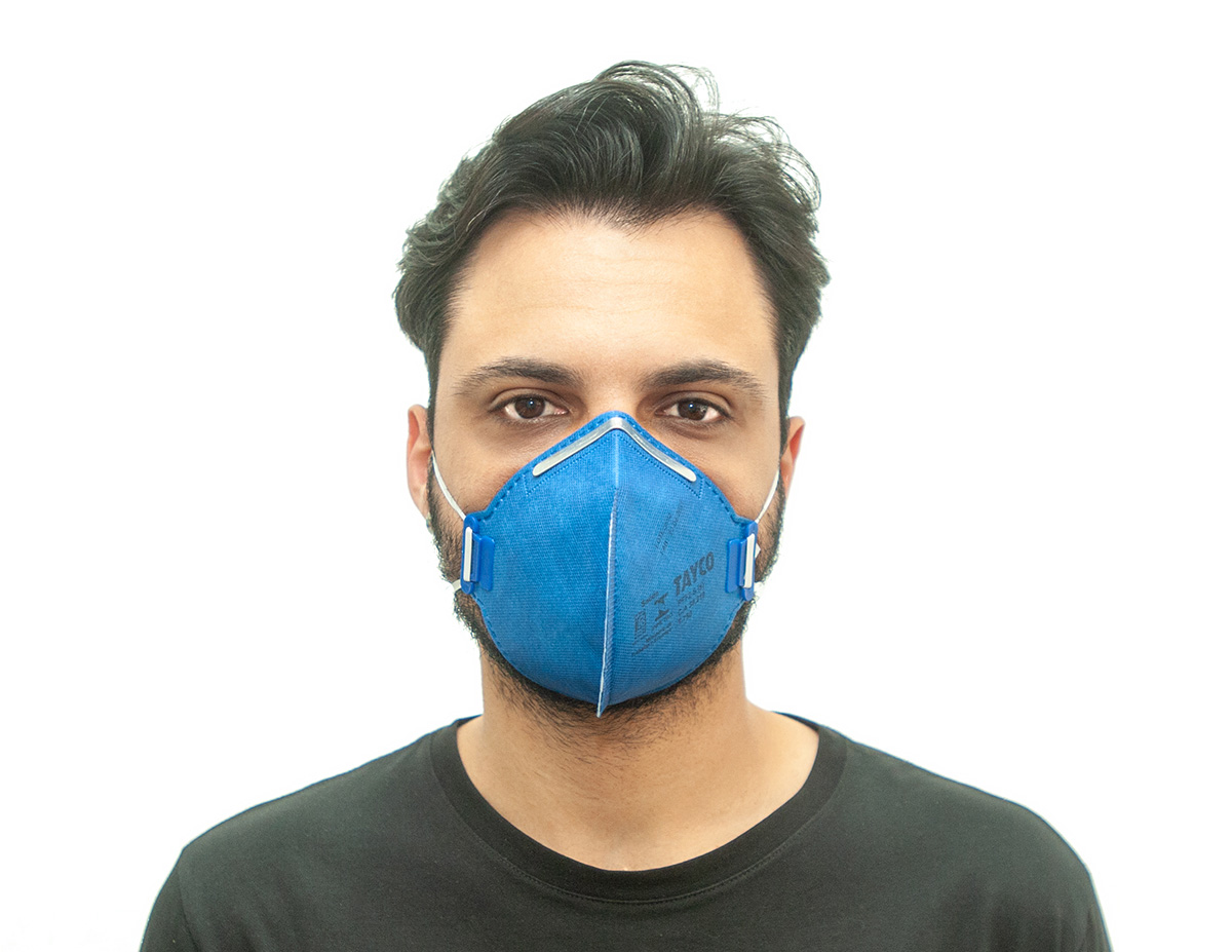 KIT 130 Mascaras  Respiratória PFF2-S  T-750 Tayco CA 39219