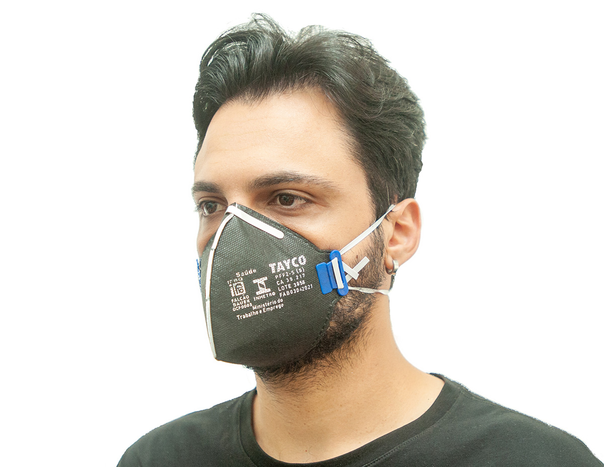 Respirador PFF2 T-950 Sem Valvula Tayco CA 39217