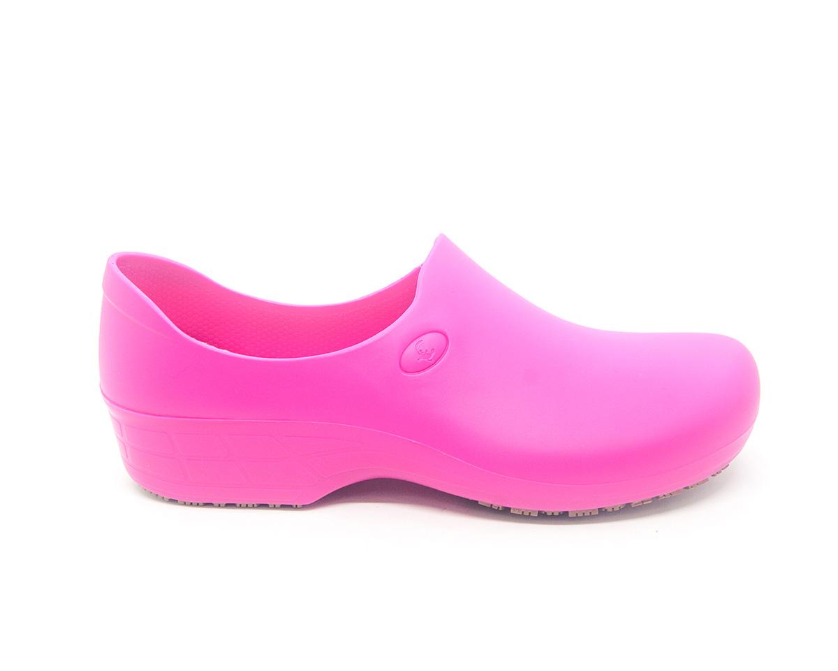 Sapato Antiderrapante Sticky Shoes Pink + Caixa Mascara Protdesc