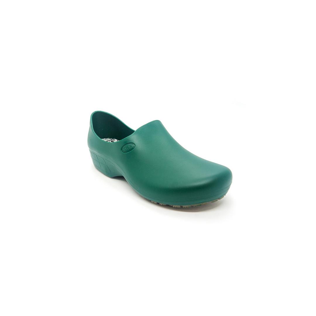 Sapato Antiderrapante Sticky Shoes Verde Amazonia + Caixa Mascara Protdesc
