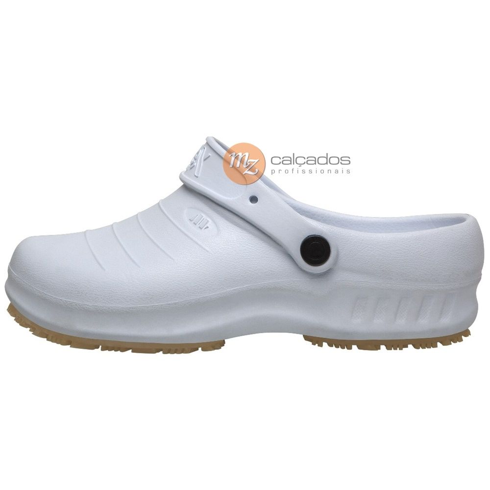 Sapato Segurança Branco Antiderrapante Flex Clean Marluvas 102FClean CA: 39835