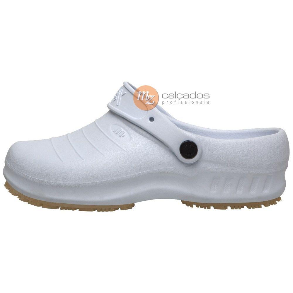 Sapato Segurança Branco Antiderrapante Flex Clean Marluvas 102FClean CA 39835