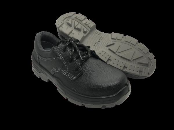 Sapato de Segurança Amarrar Bracol 4045BSAS4600LL Bidensidade bico de PVC CA 43696