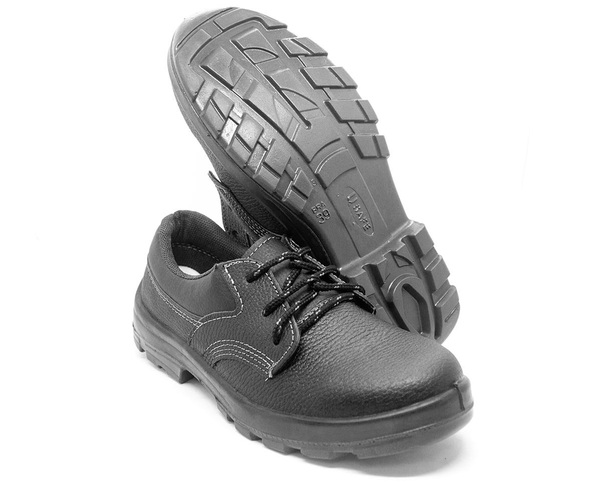 Sapato de segurança Cadarço Bico PVC Fujiwara Usafe 4098USAS4600US CA 41858 + Palmilha Anatômica