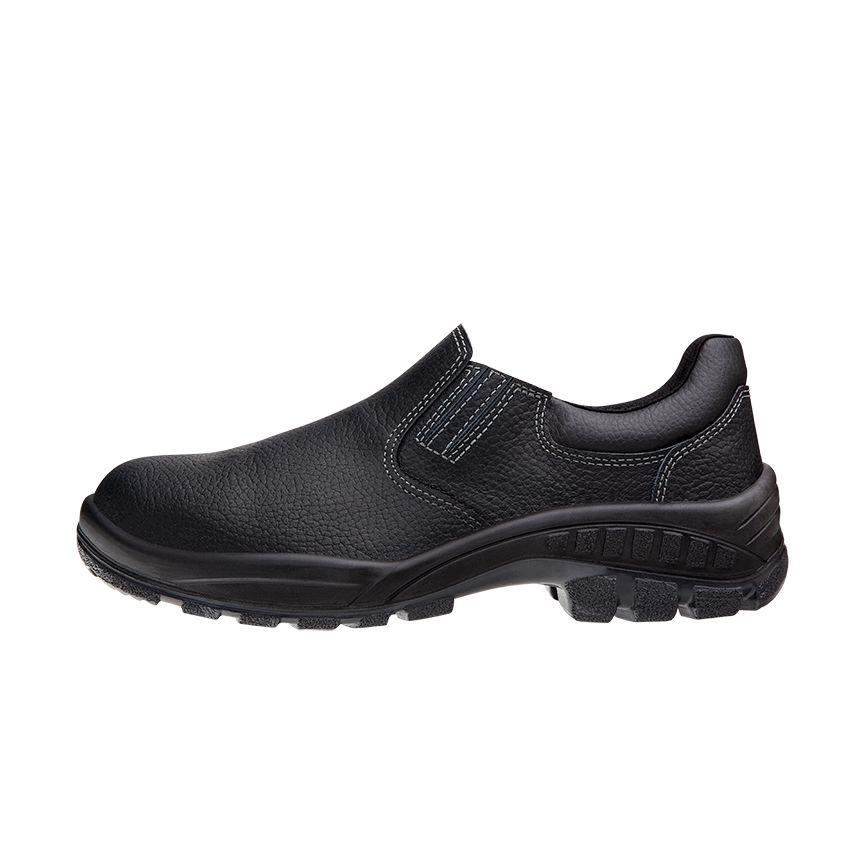 Sapato Segurança Couro Preto Marluvas 90S19 CA 19564