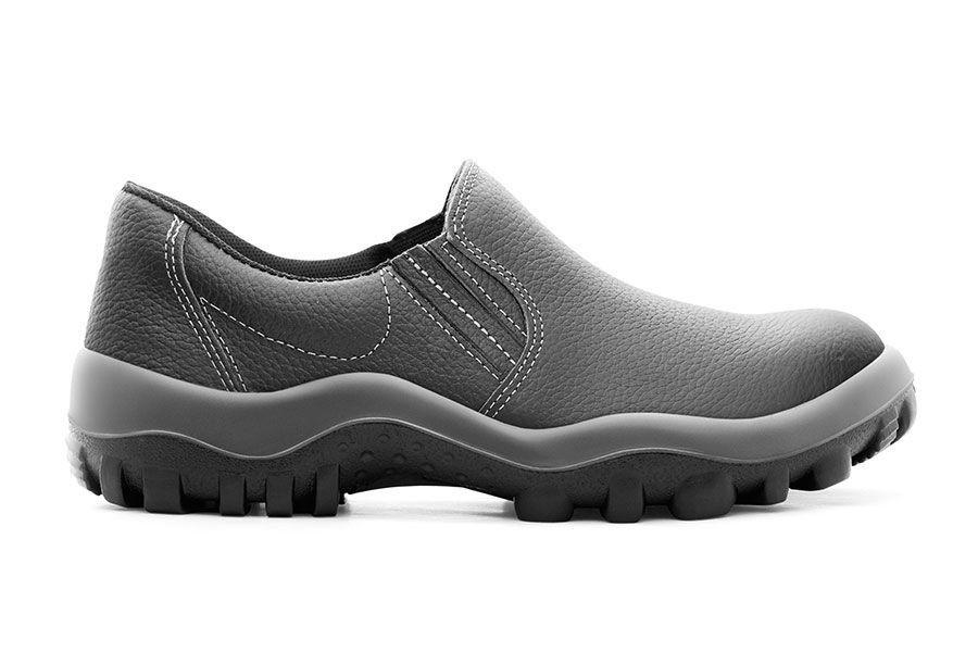Sapato de Segurança Preto Couro Safetline 4925/TPC CA 13127