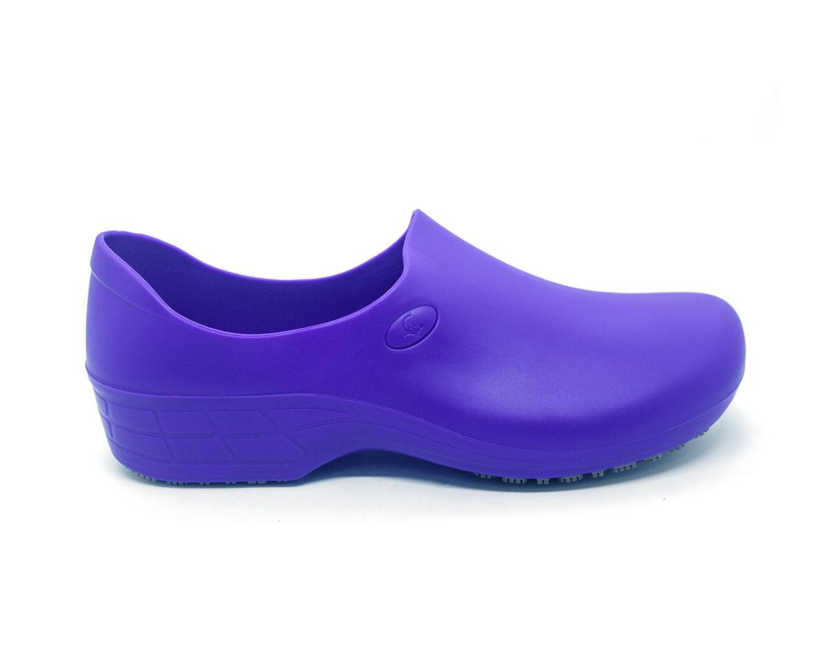 Sapato Segurança Antiderrapante Sticky Shoe WOMAN Azul CA 39848