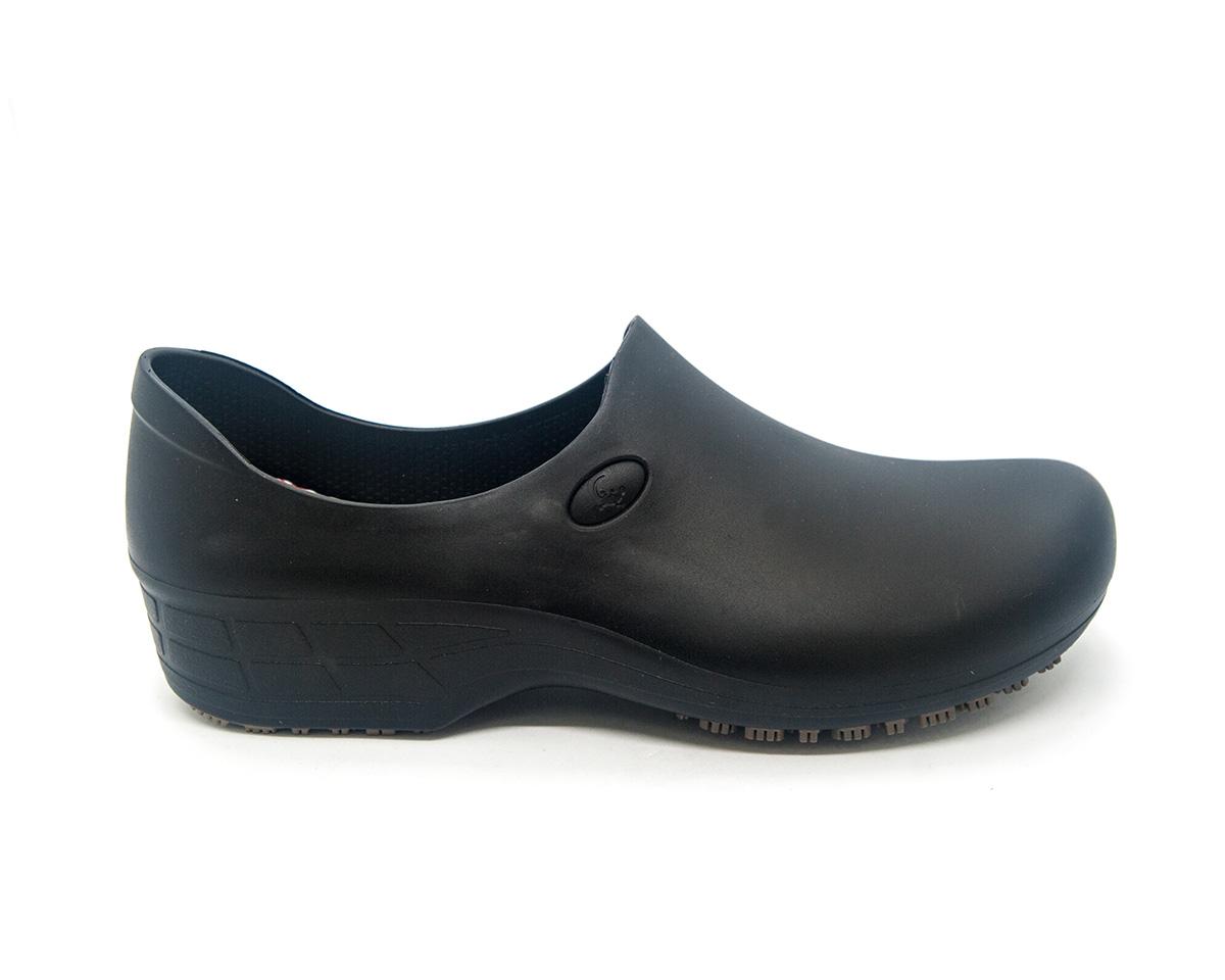 Sapato Segurança Antiderrapante Sticky Shoe WOMAN Preto CA 39848
