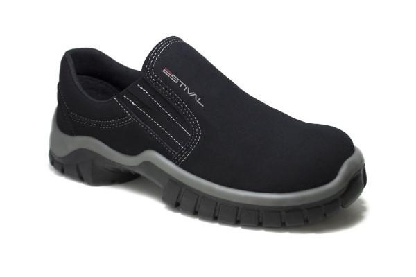 Sapato Segurança Microfibra Preto Estival WO10021 CA 31090