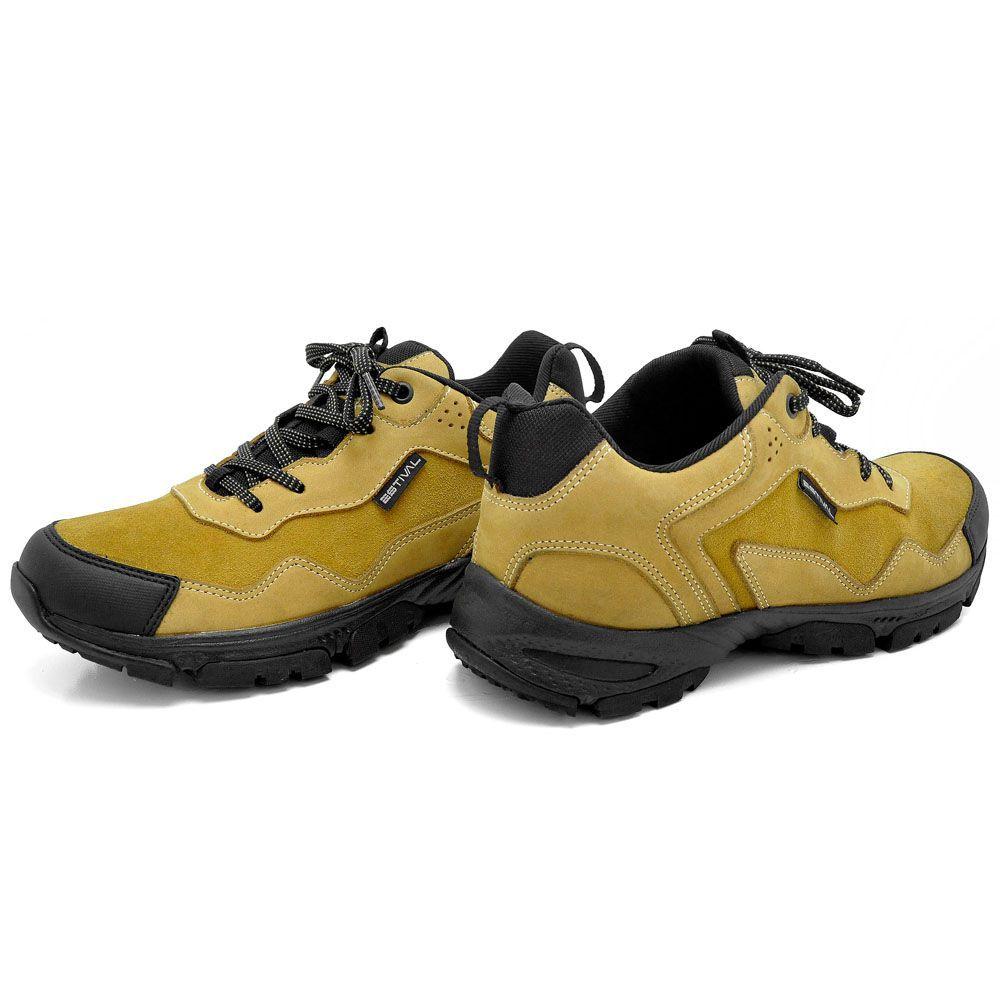 Sapato Segurança Nobuck Mostarda Estival ADV100 CA 40377