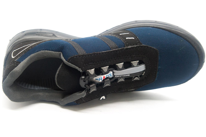 Tênis de Segurança Preto/Azul Bracol Ultralev BWZ CA 36638