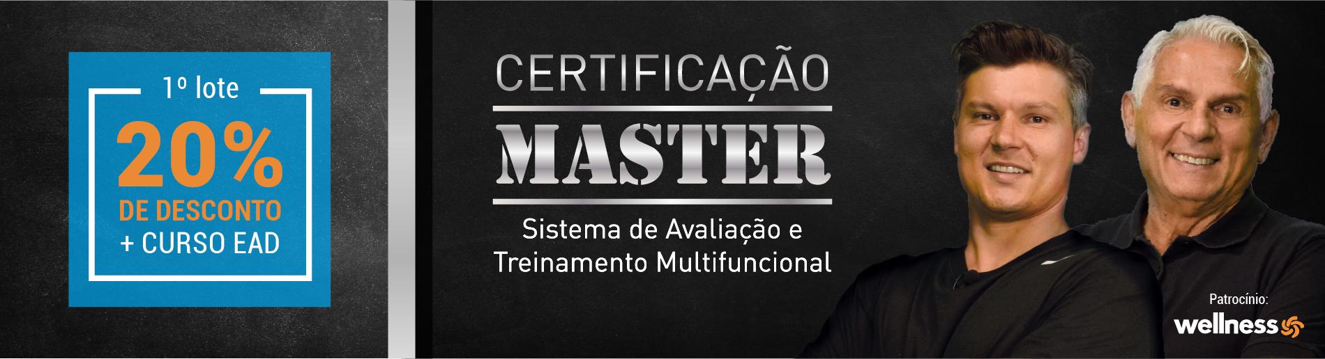 Certificação Master 2018.2