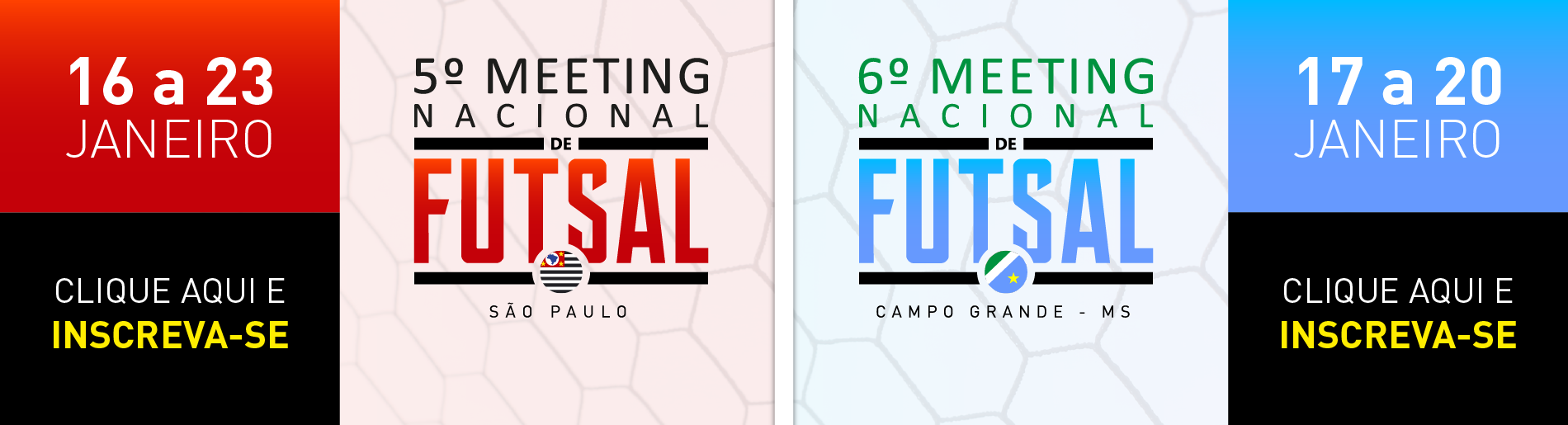 5º e 6º meetings nacionisl de futsal - sp/ms