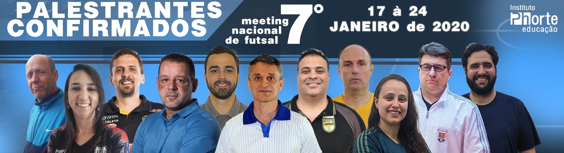 7º meeting de futsal