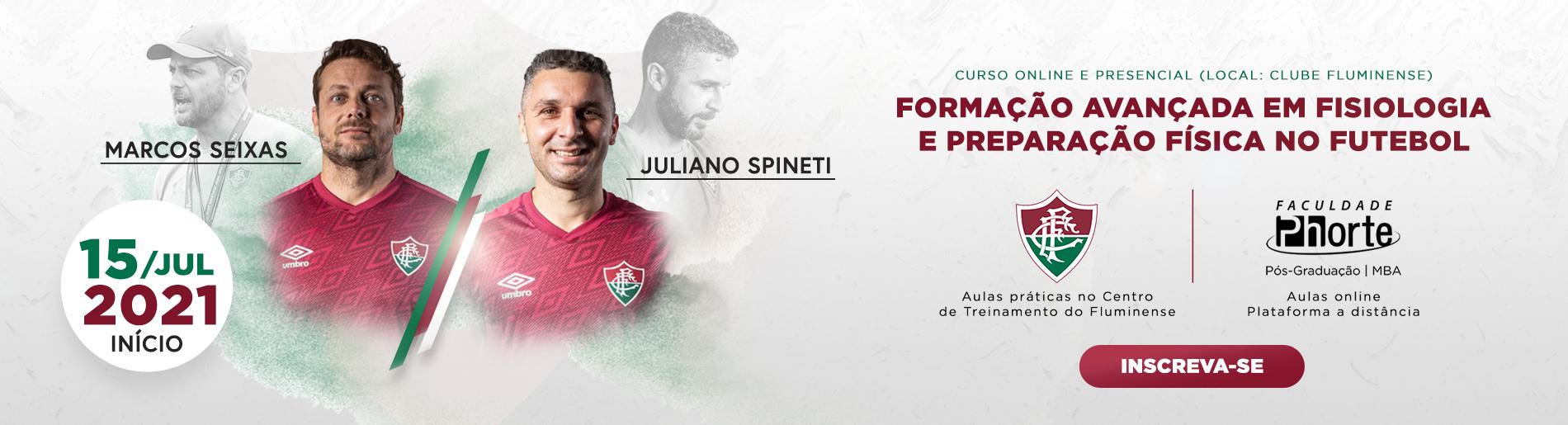 formação avançada em fisiologia e preparação física no futebol