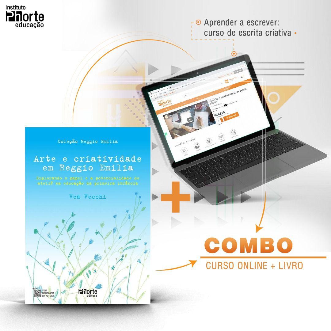 Combo Aprenda a Escrever 1  - Cursos distância e aulas online Instituto Phorte Educação.