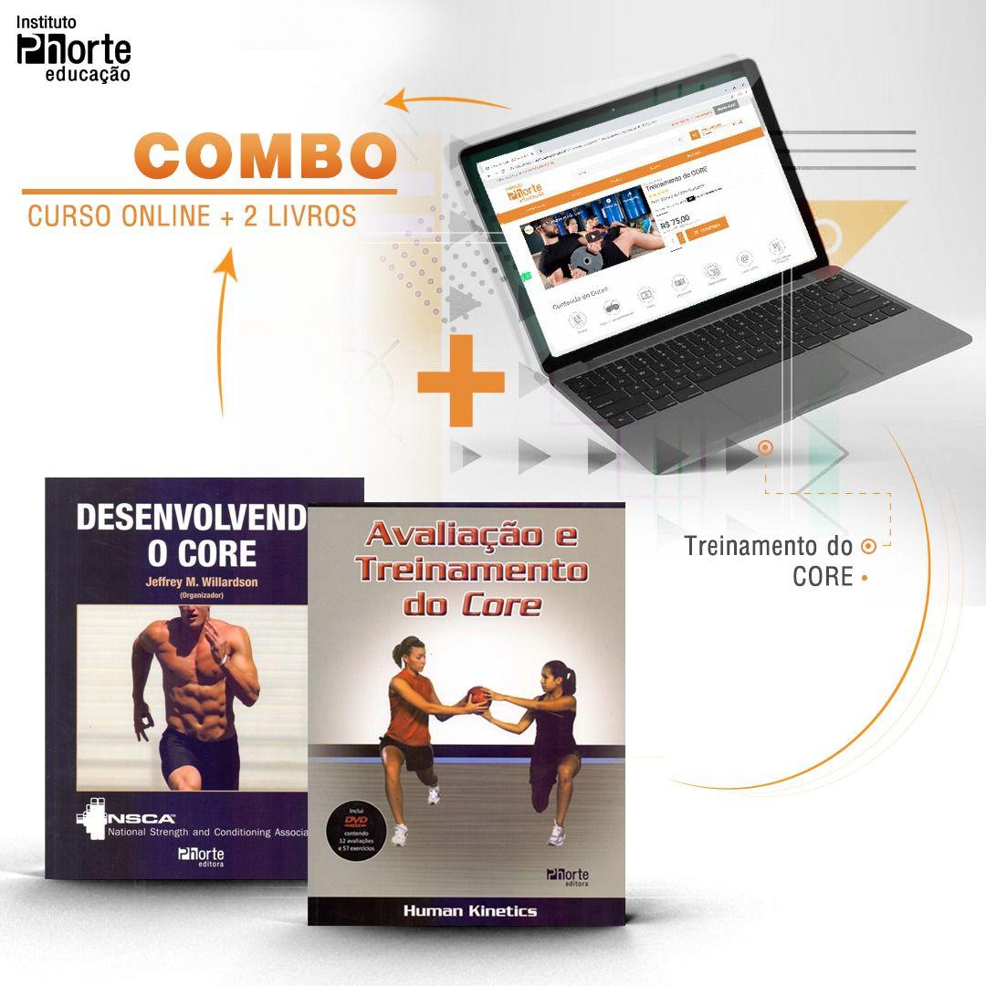 Combo Core 2  - Cursos distância e aulas online Instituto Phorte Educação.