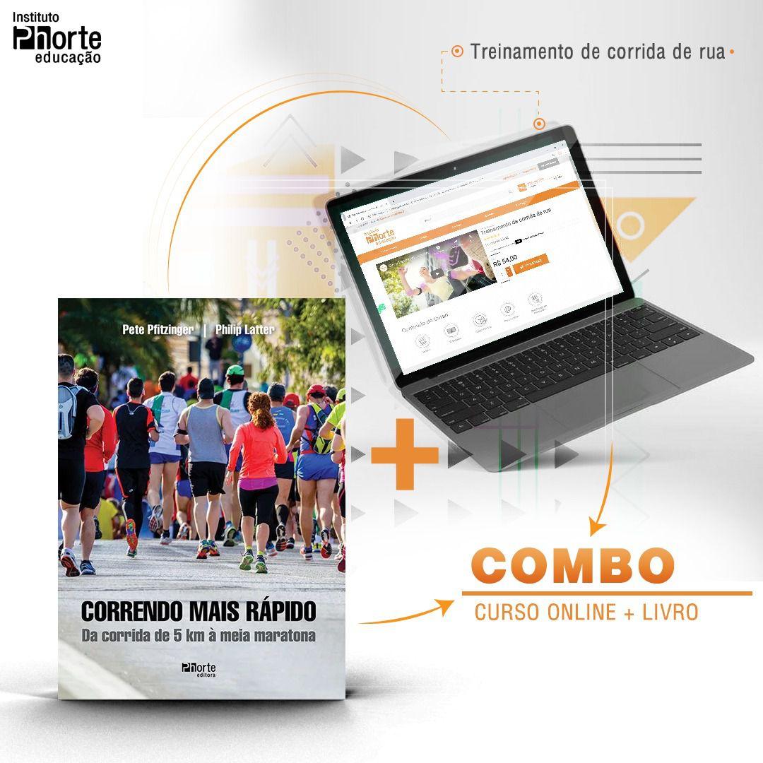 Combo Corrida 1  - Cursos distância e aulas online Instituto Phorte Educação.