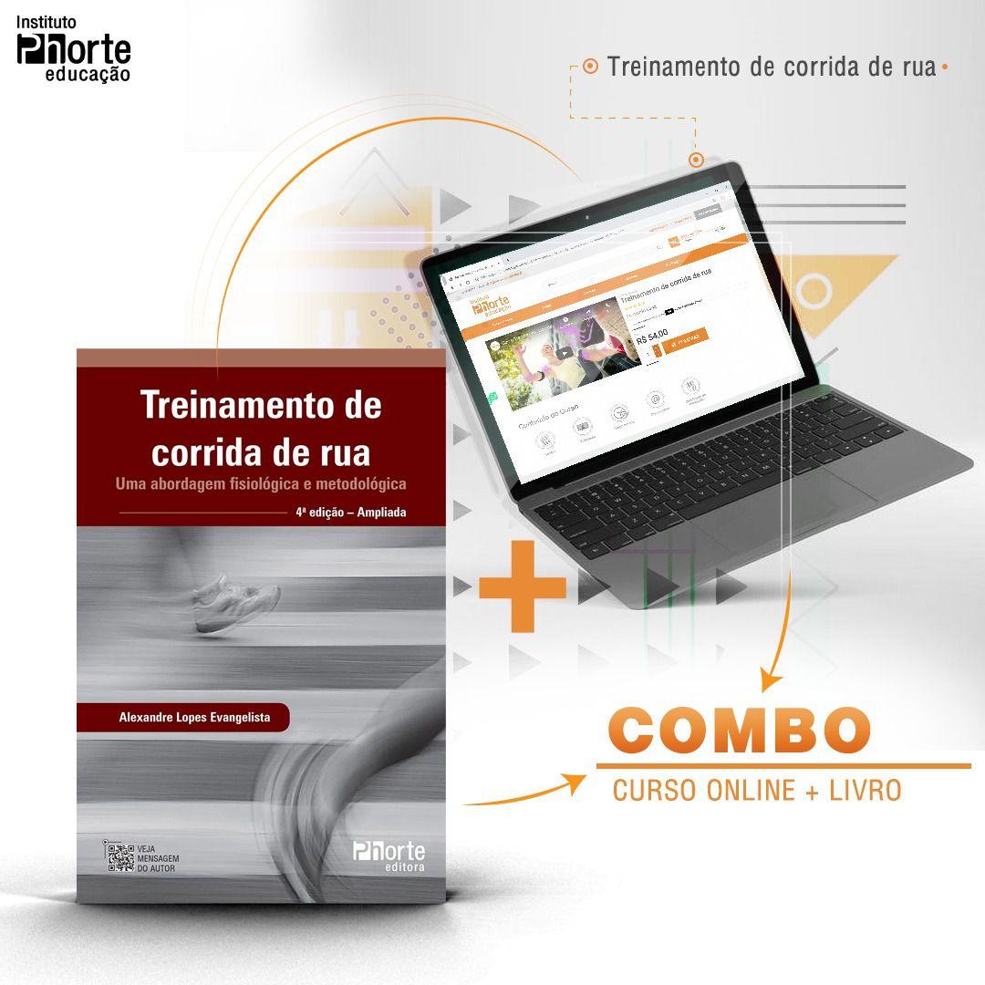 Combo corrida 2  - Cursos distância e aulas online Instituto Phorte Educação.