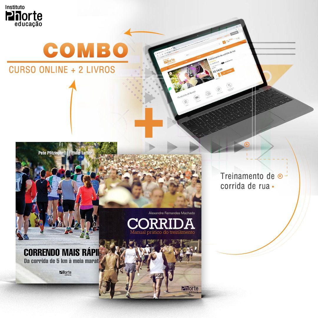 Combo corrida 3  - Cursos distância e aulas online Instituto Phorte Educação.