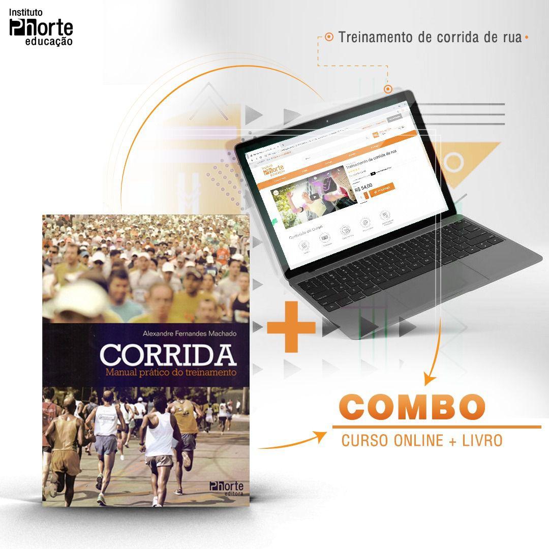 Combo Corrida 4  - Cursos distância e aulas online Instituto Phorte Educação.
