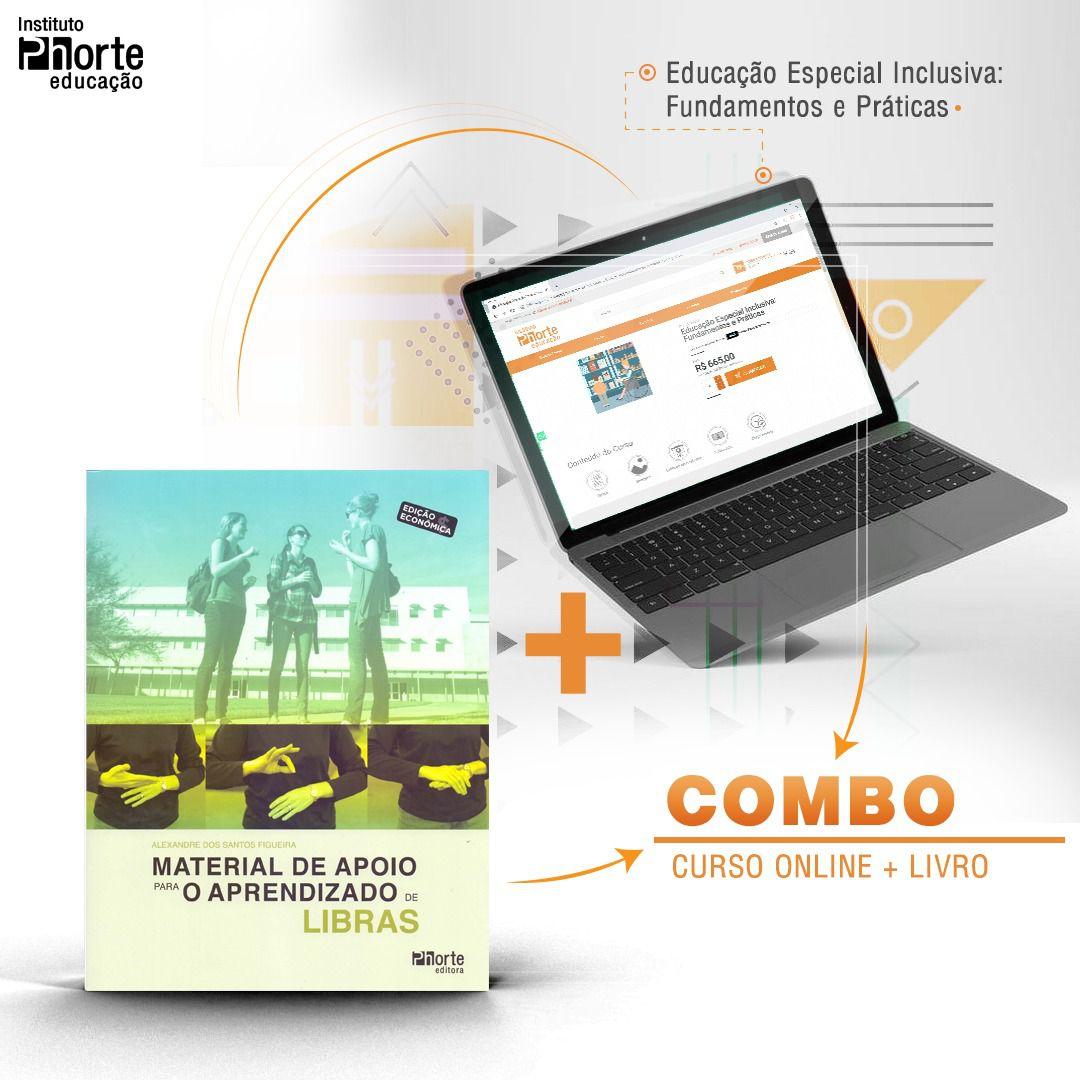 Combo Educação Especial 1  - Cursos distância e aulas online Instituto Phorte Educação.